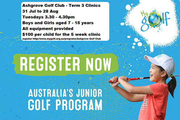 Term 3 My Golf Clinics